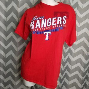 TEXAS RANGERS Baseball red tshirt